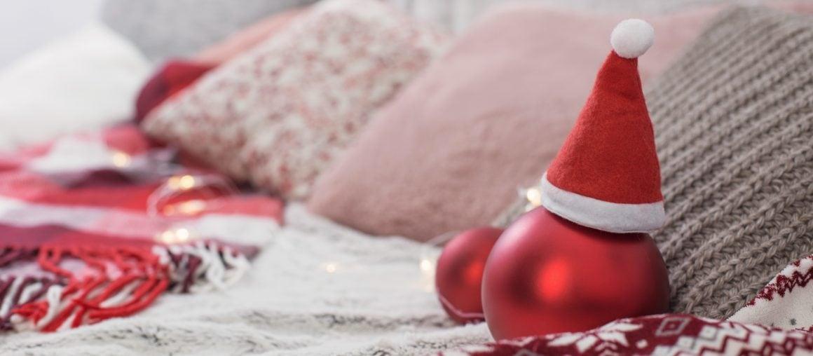 Weihnachten mit Polstermöbeln