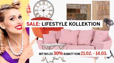 Sale: Lifestyle Kollektion zu fantastischen Preisen